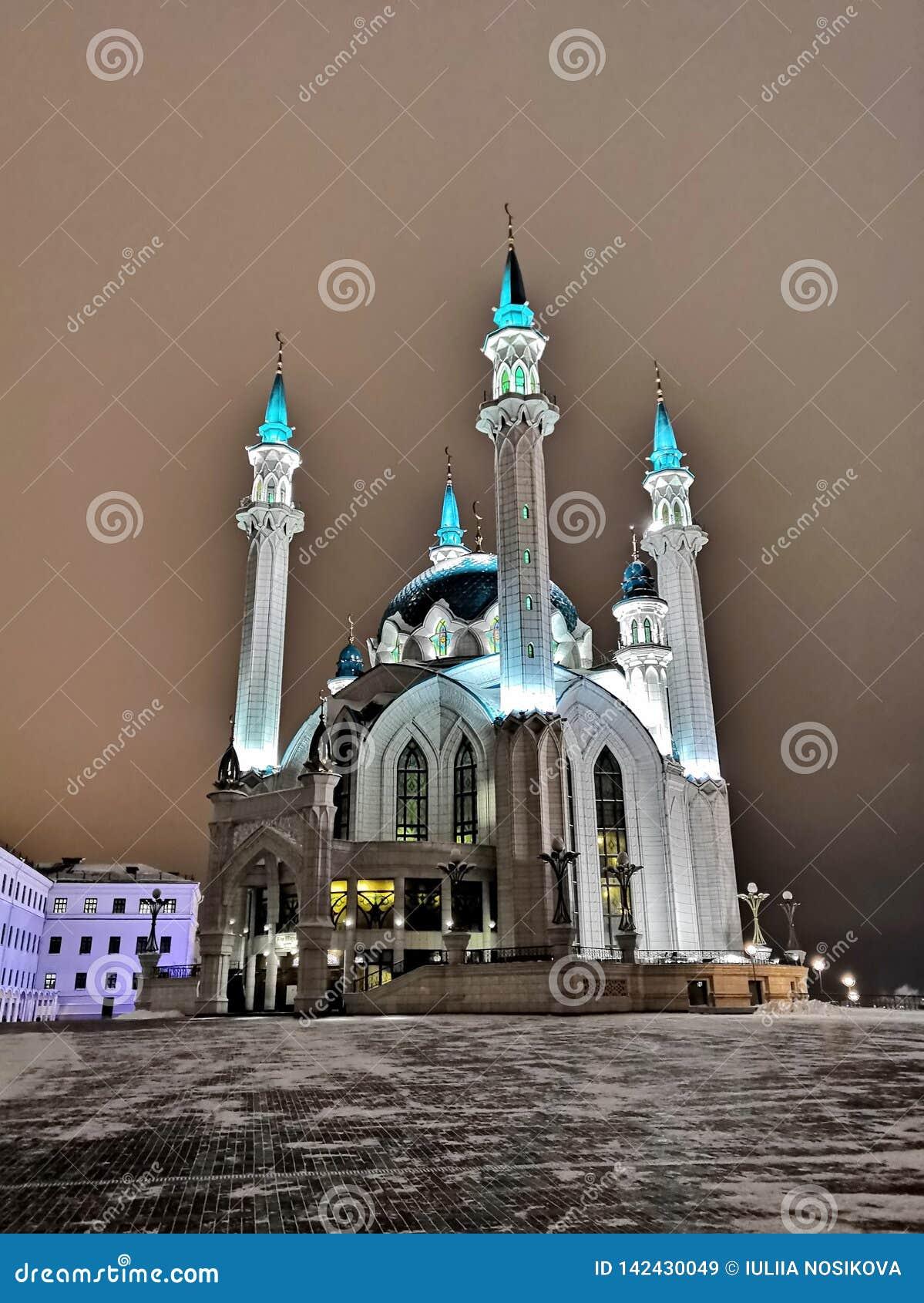 Kul Sharif Mosque i den Kazan staden