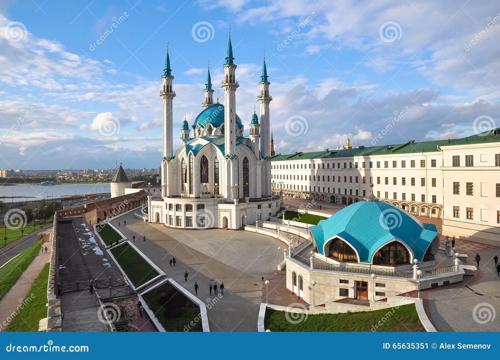 Kul Sharif Mosque in Kazan het Kremlin Rusland