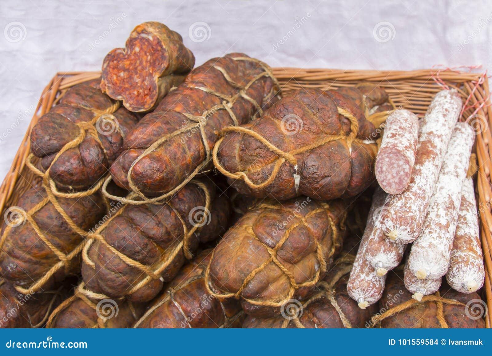 Kulen известная подлинная пряная сосиска