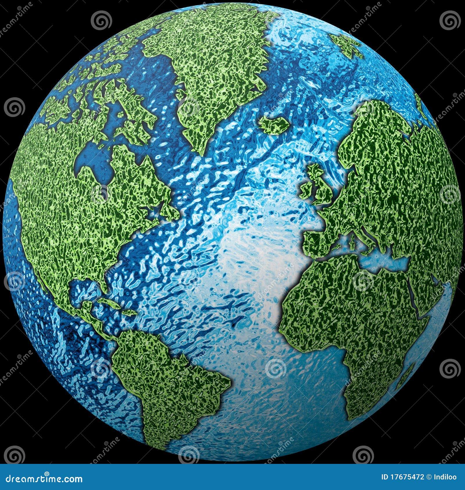 Kuli ziemskiej tekstury świat