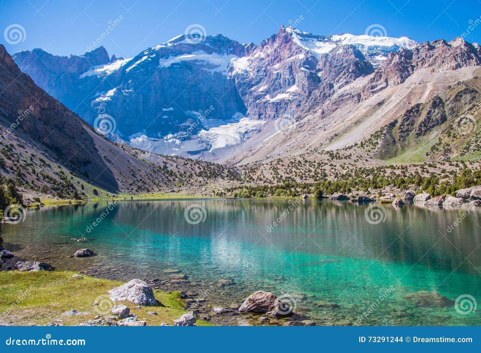 Kulikalon sjöar, Fann berg, turism, Tadzjikistan