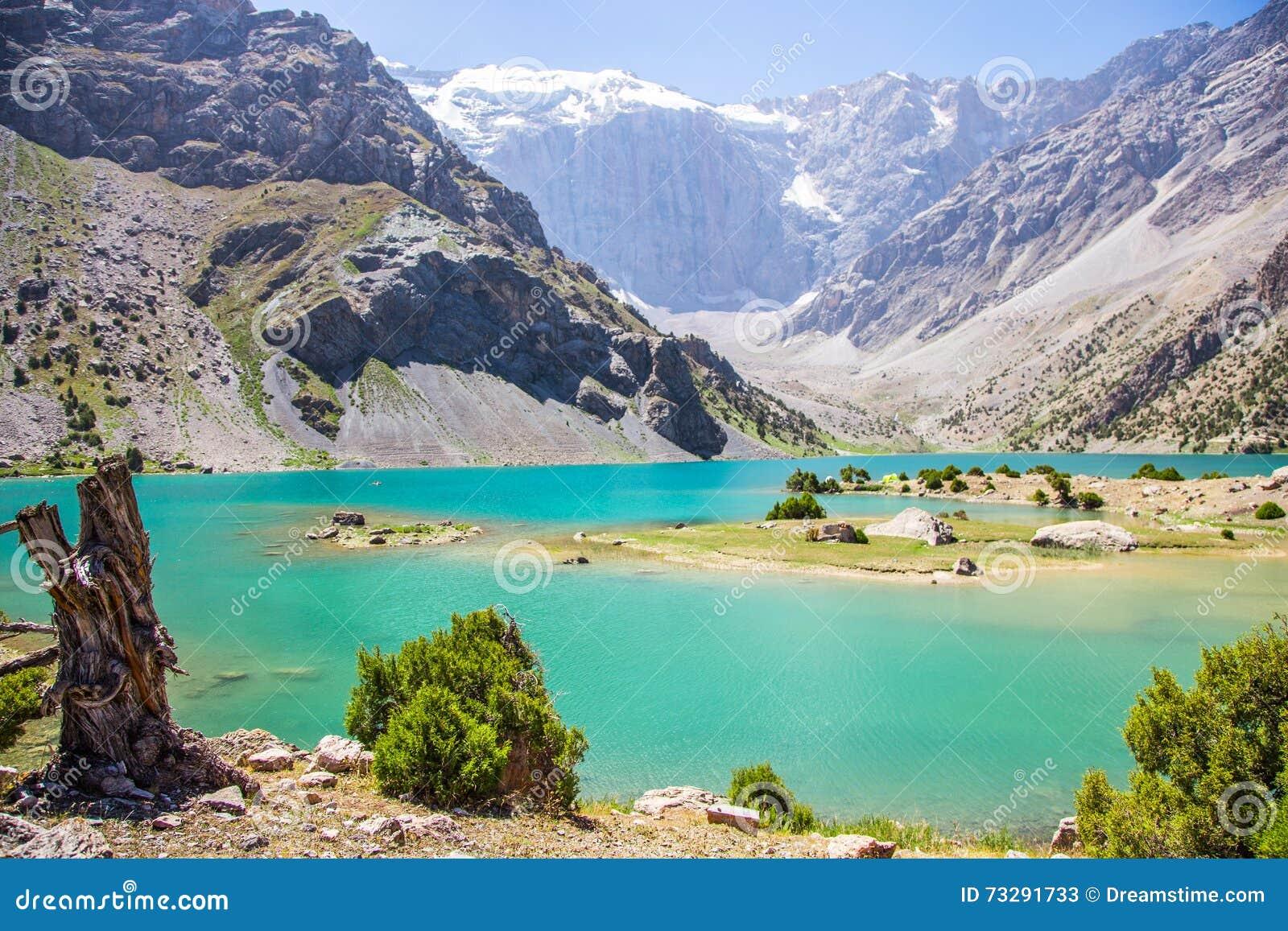 Kulikalonmeren, Fann-bergen, toerisme, Tadzjikistan