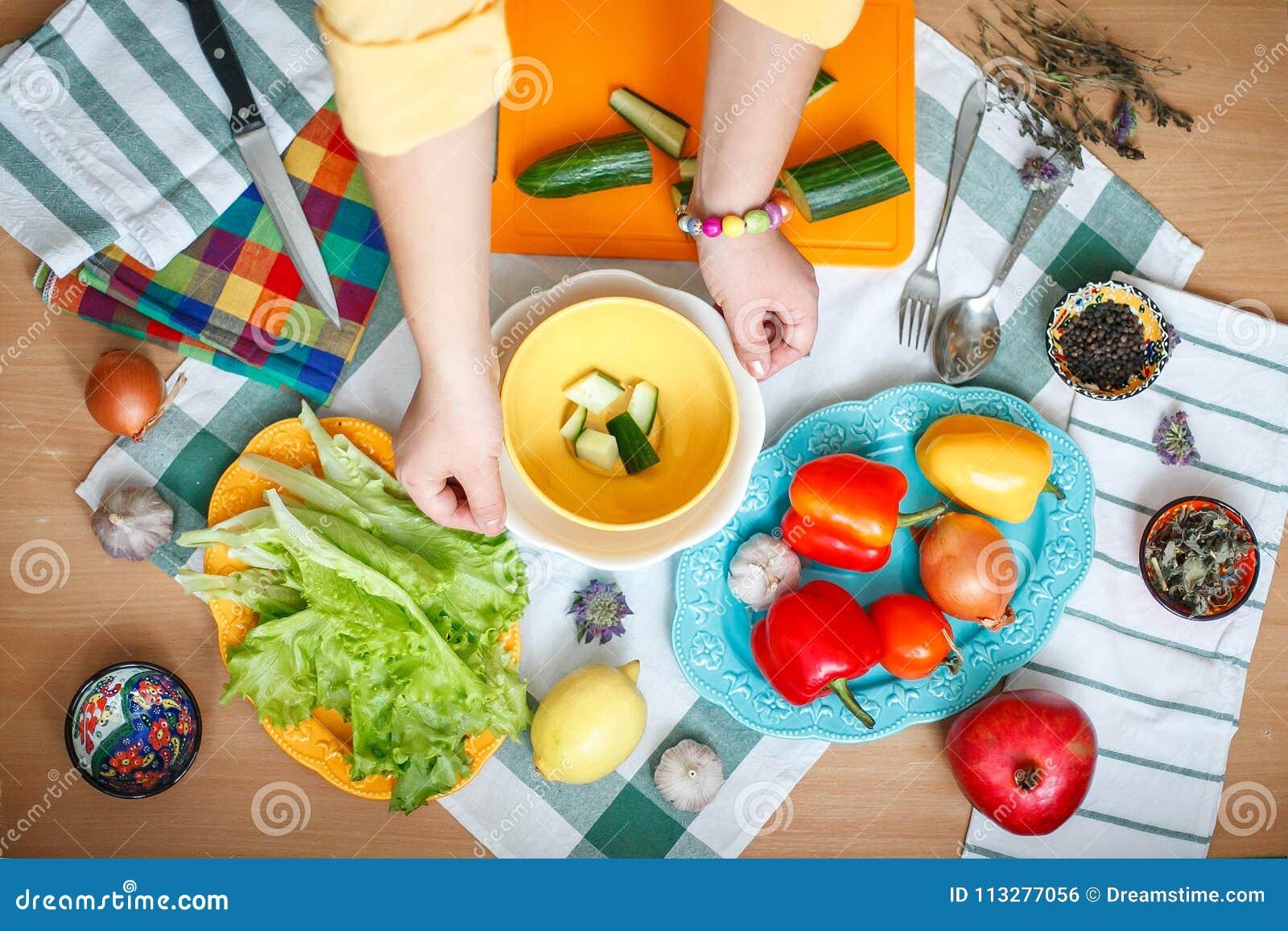 Kulinarna sałatka od warzyw