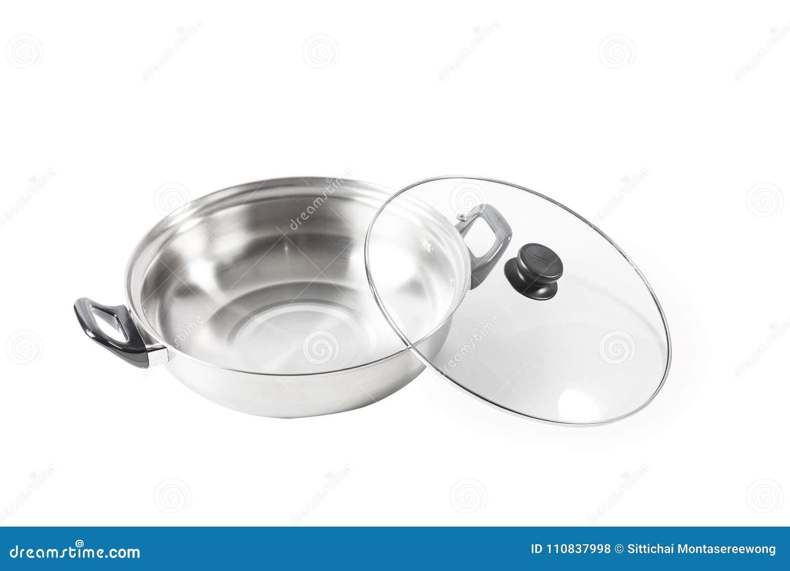 Kulinarny garnek jest przedmiotem który może używać dla różnorodnego kucharstwa S