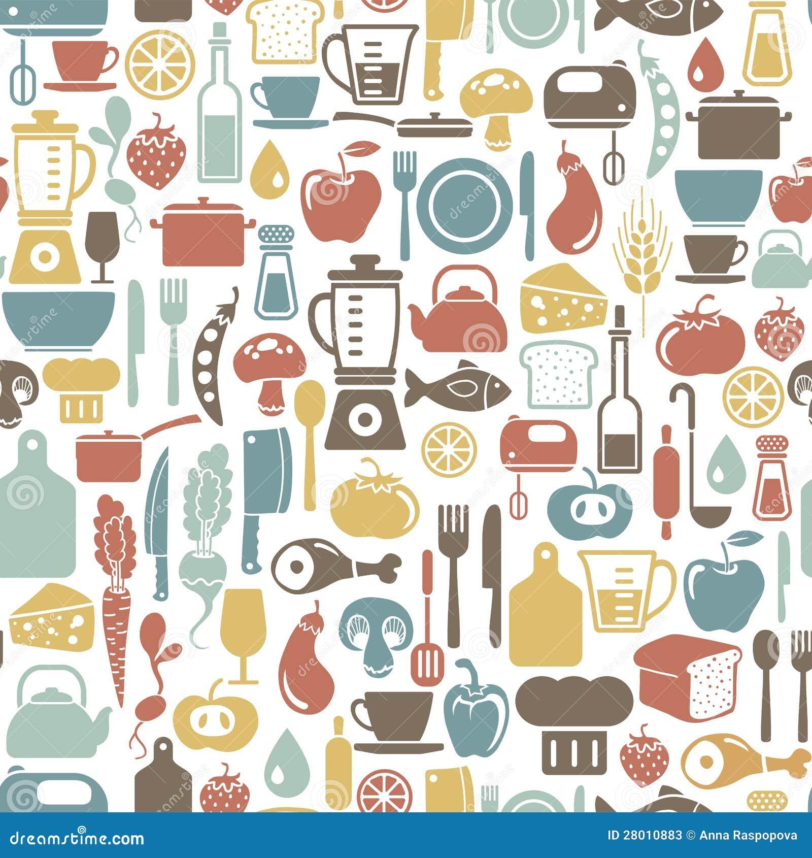Kulinarny tło