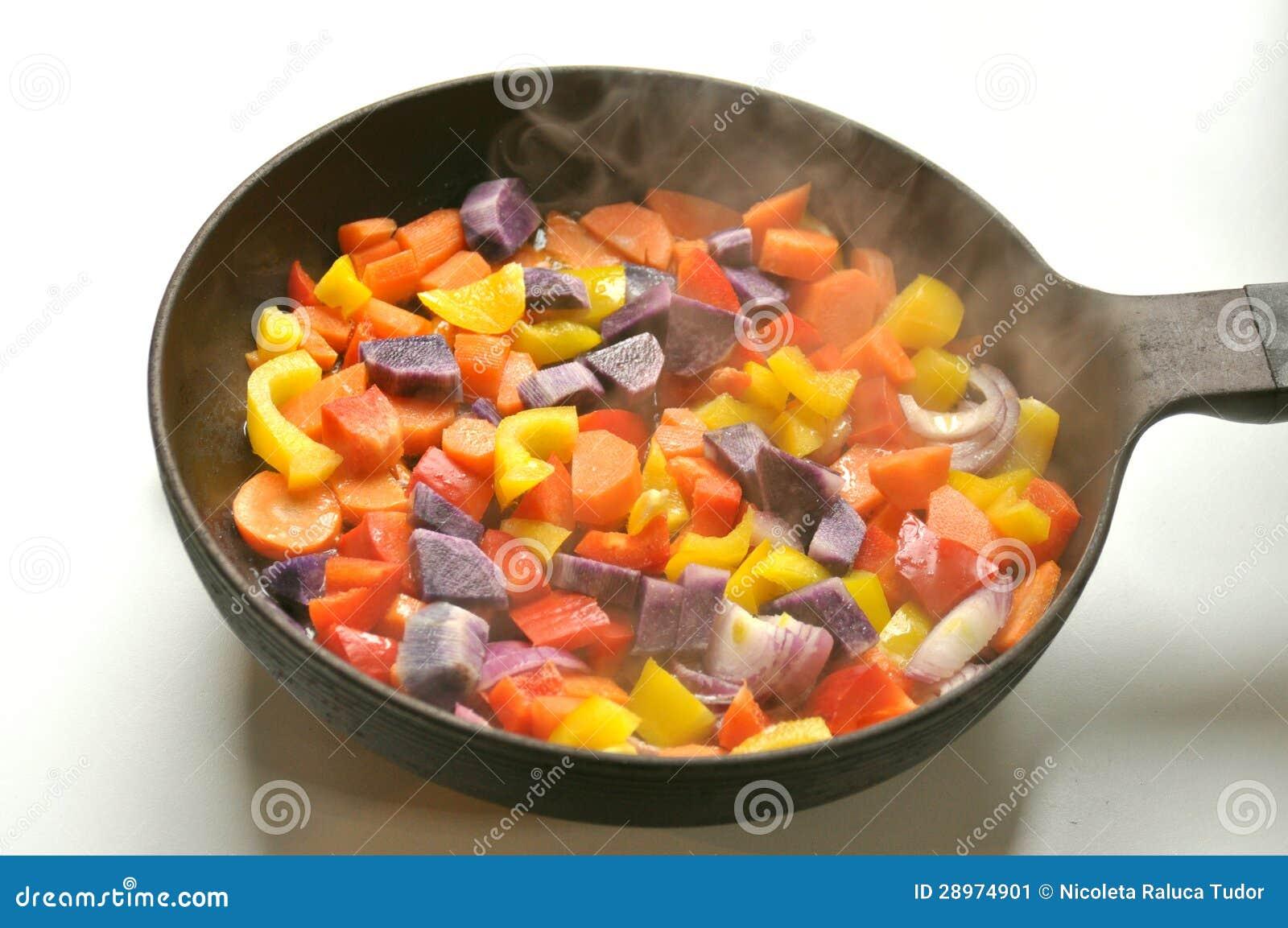 Kulinarny weganin od narysu pojęcia
