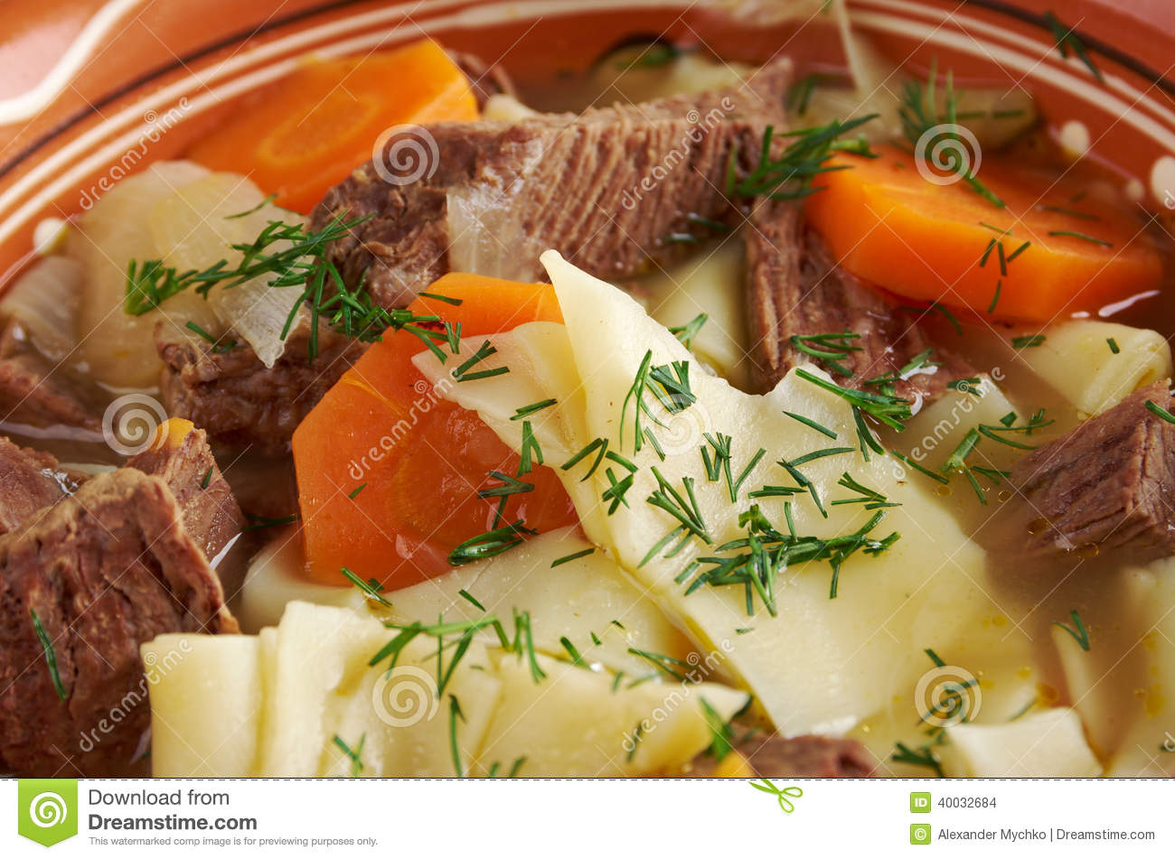 Kullama boiled meat with noodles stock photo image for Ajk chinese cuisine