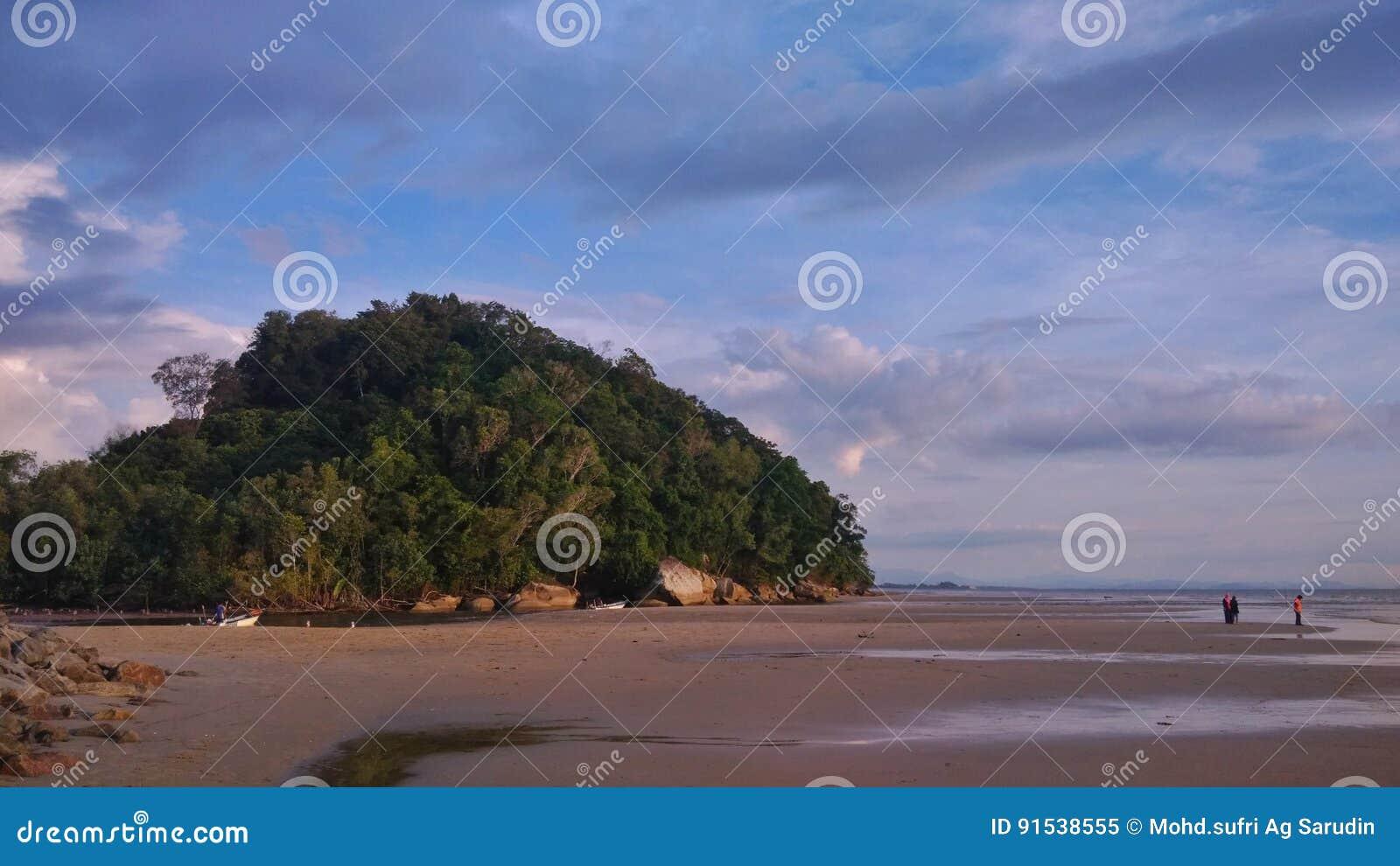 Kulle på stranden