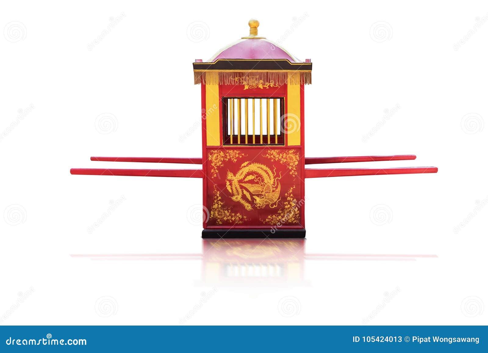 Kultur för traditionell kines, Palanquin som bär bruden