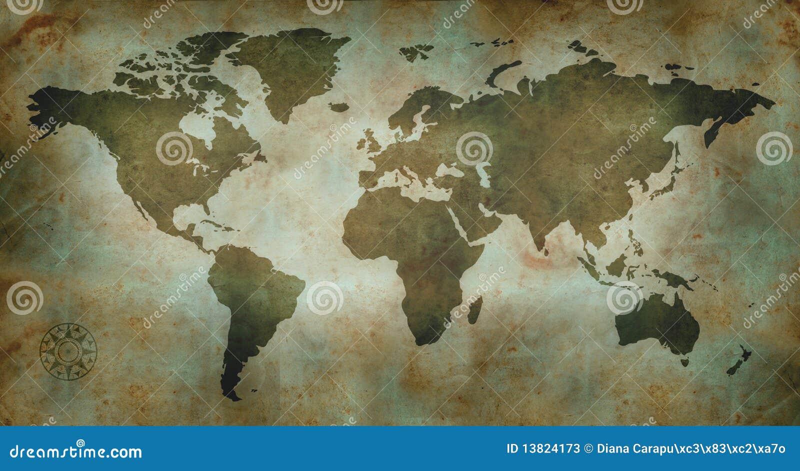 Kultury mapy świat