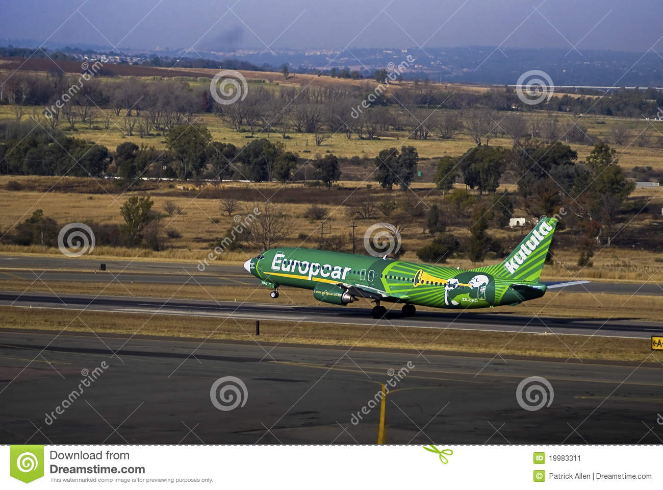 Kulula Airways - Boeing 737-4S3 - ZS-OAO - takeoff