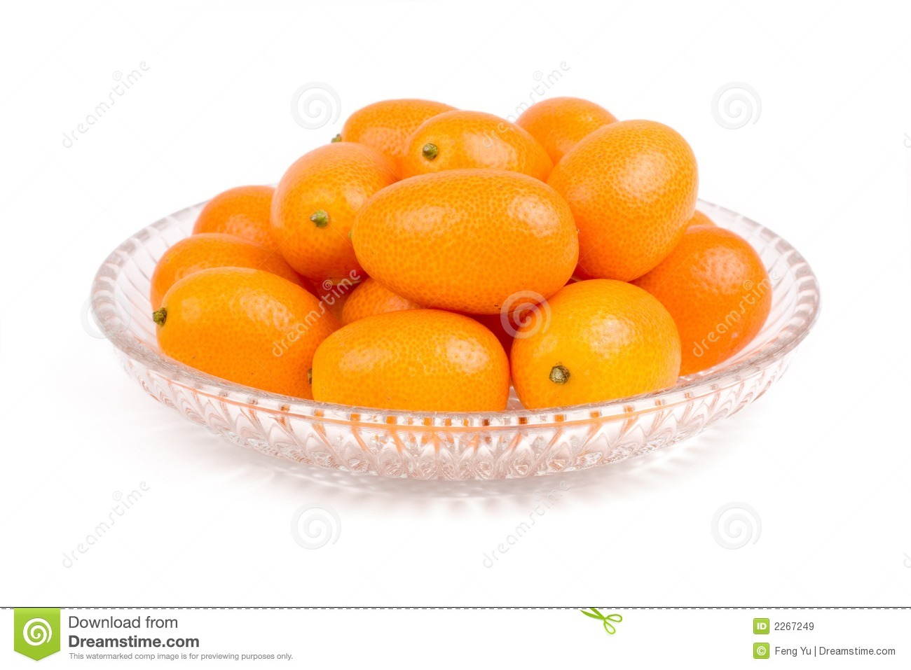 Isolated kumquat, The fruit has a sweet outer skin and a tart inner ...