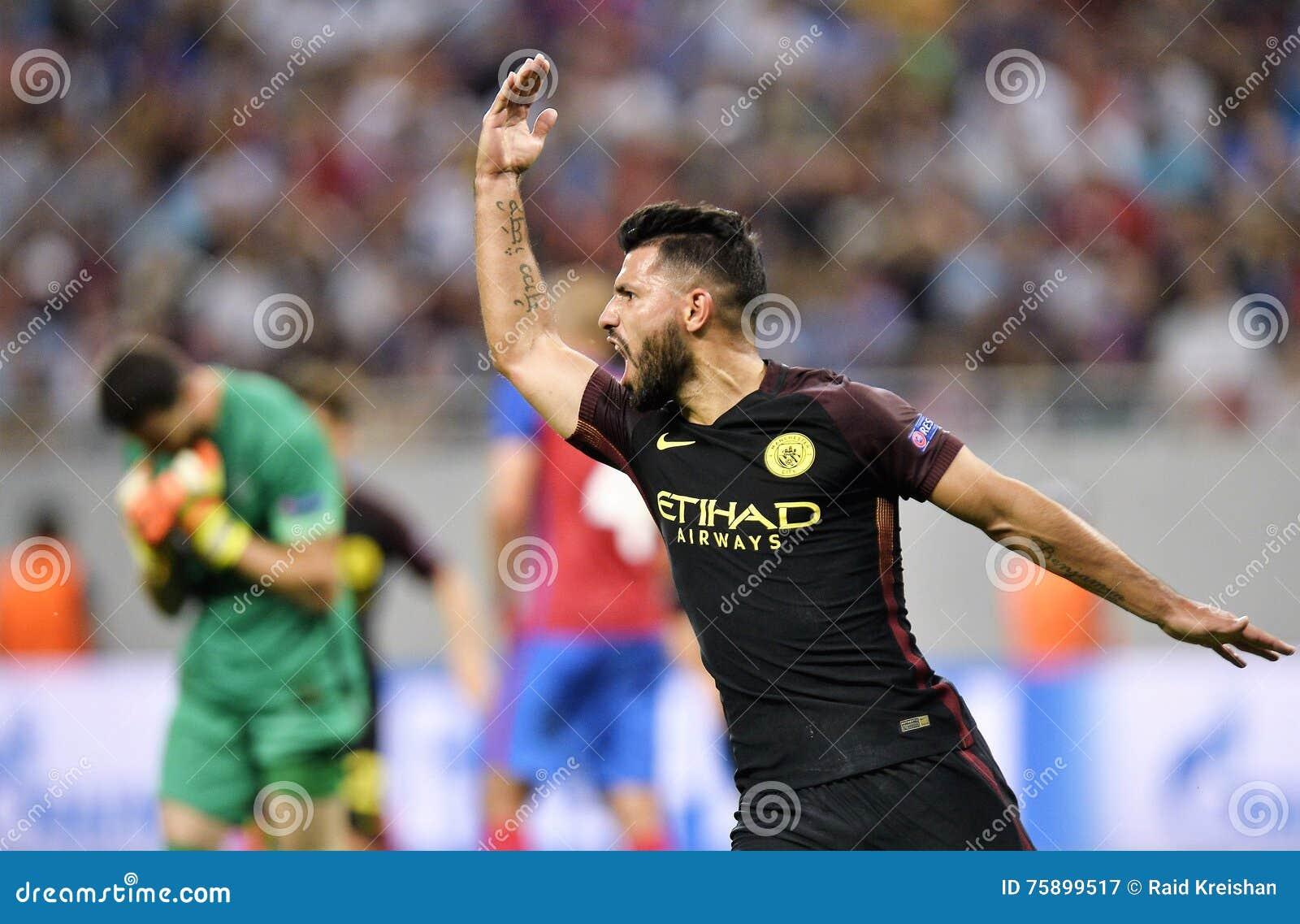 Kun Aguero Reaction After Scoring A Goal Editorial