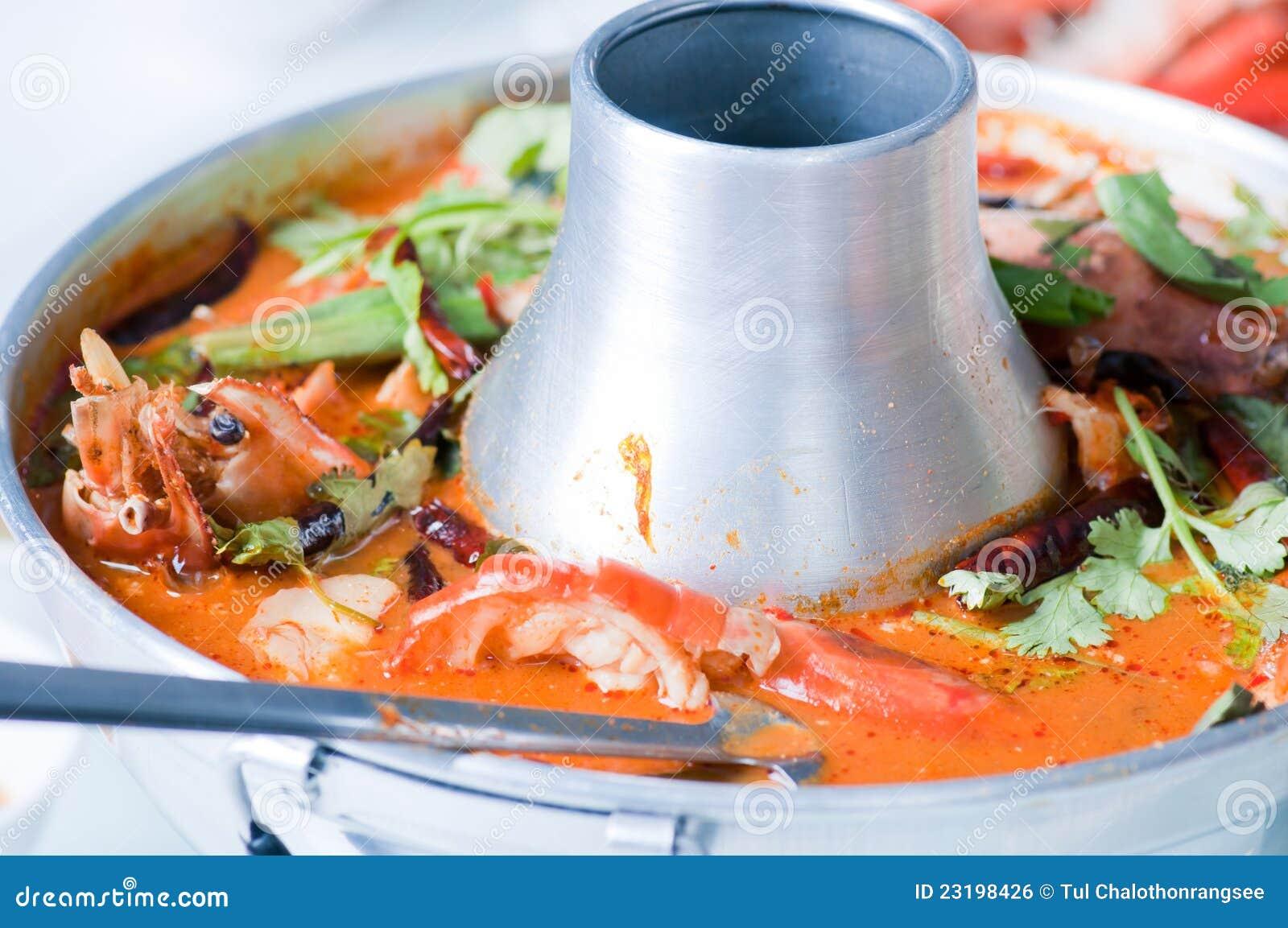 Kung do yum de Tom, alimento tailandês