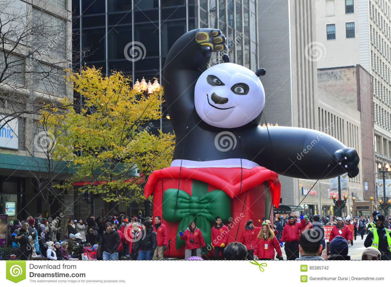 Kung Fu Panda In Mcdonald S Thanksgiving Parade Editorial Photography Image Of High Hour 85385742