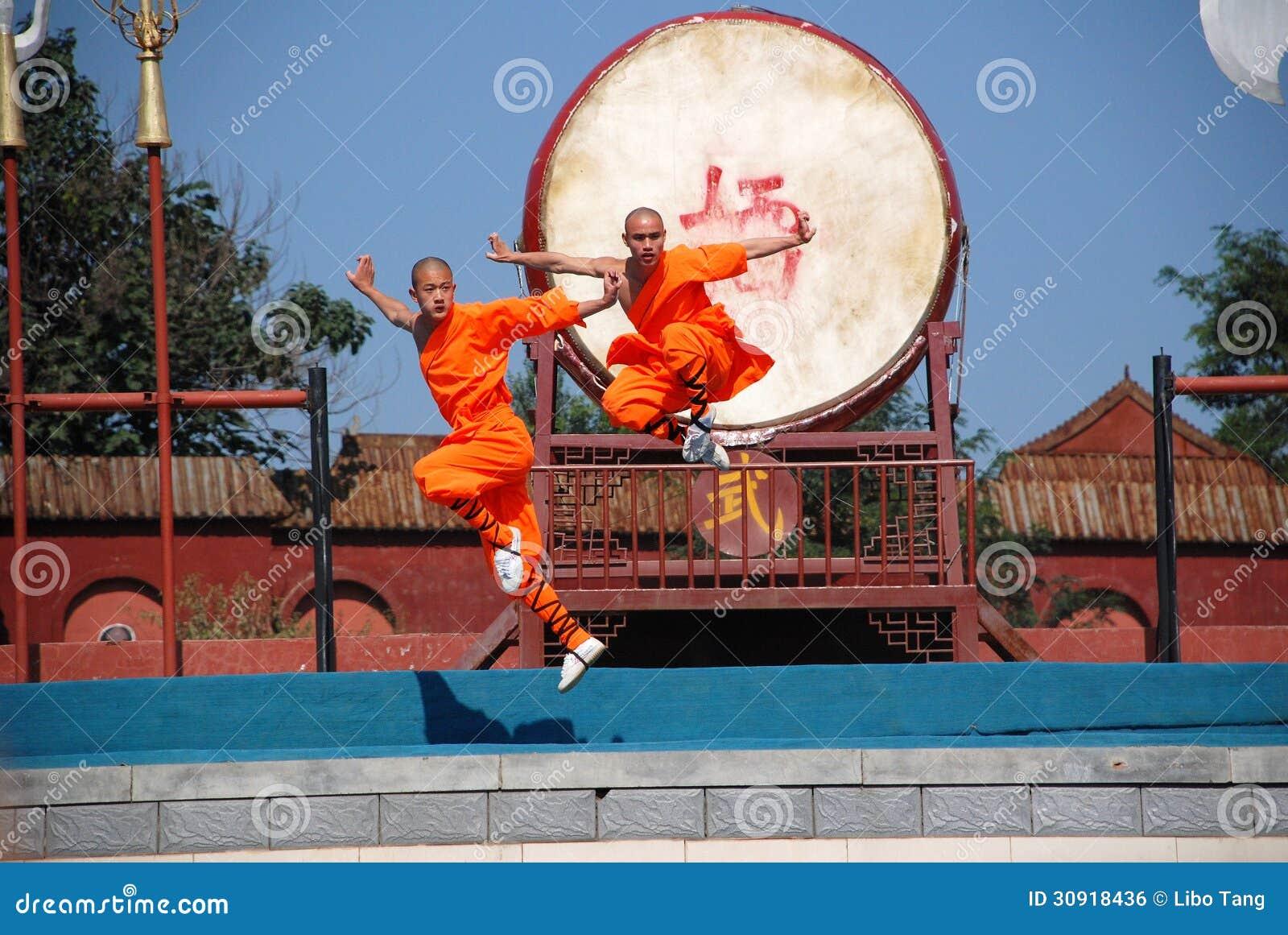 Kung fu przedstawienie