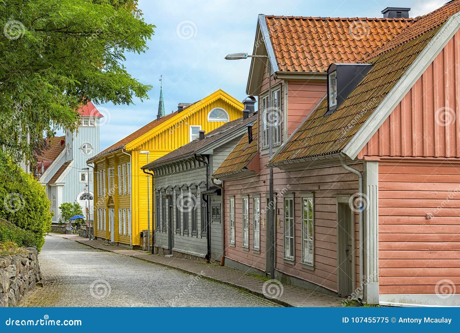 Kungalv Landscape Street Scene