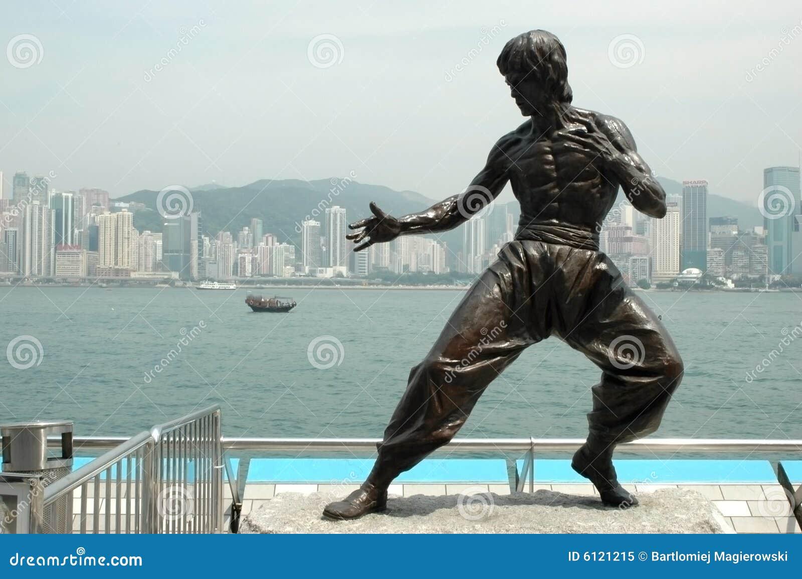 Kungfu Skulptur - Hong Kong