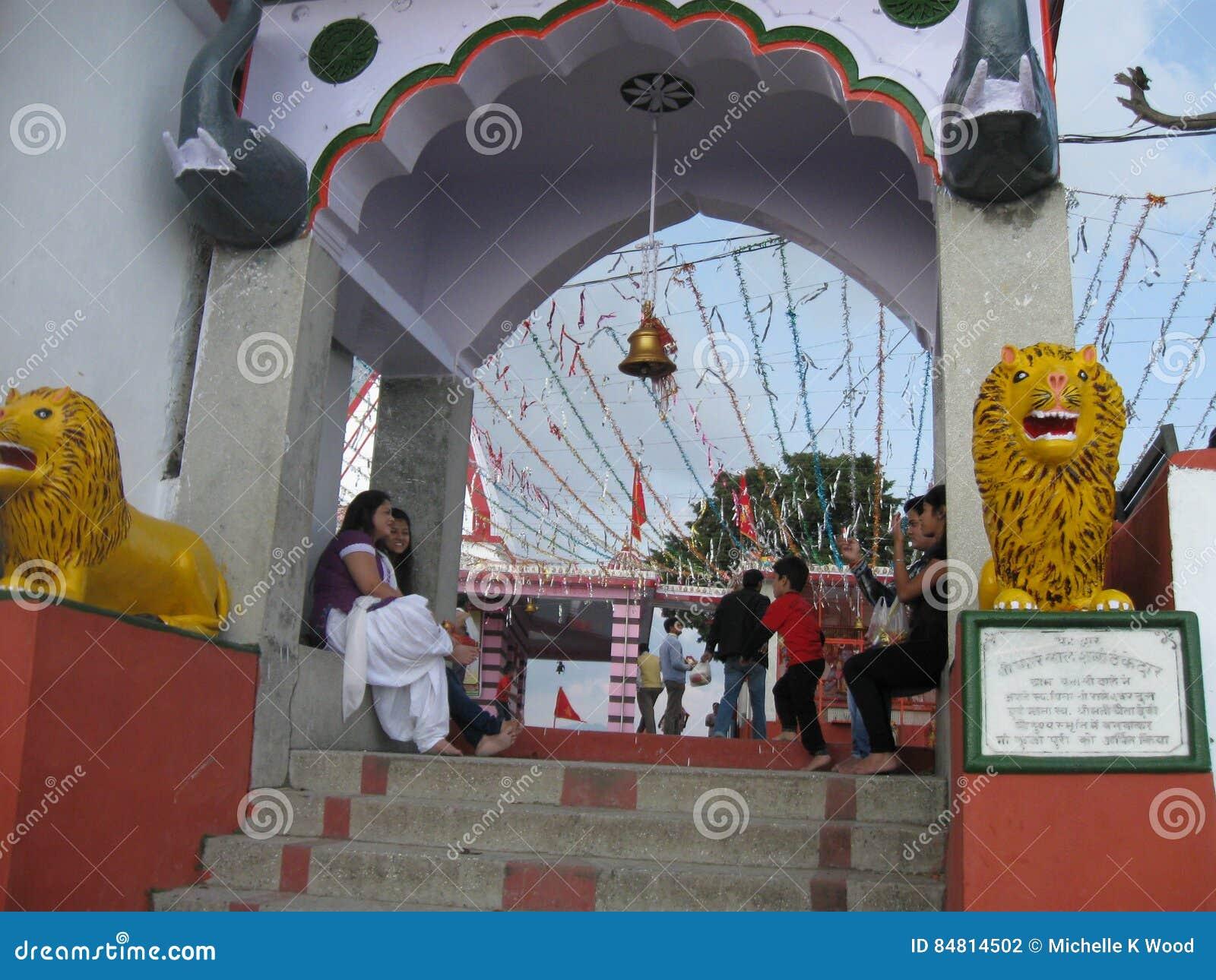 Kunjapuri Temple near Rishikesh India
