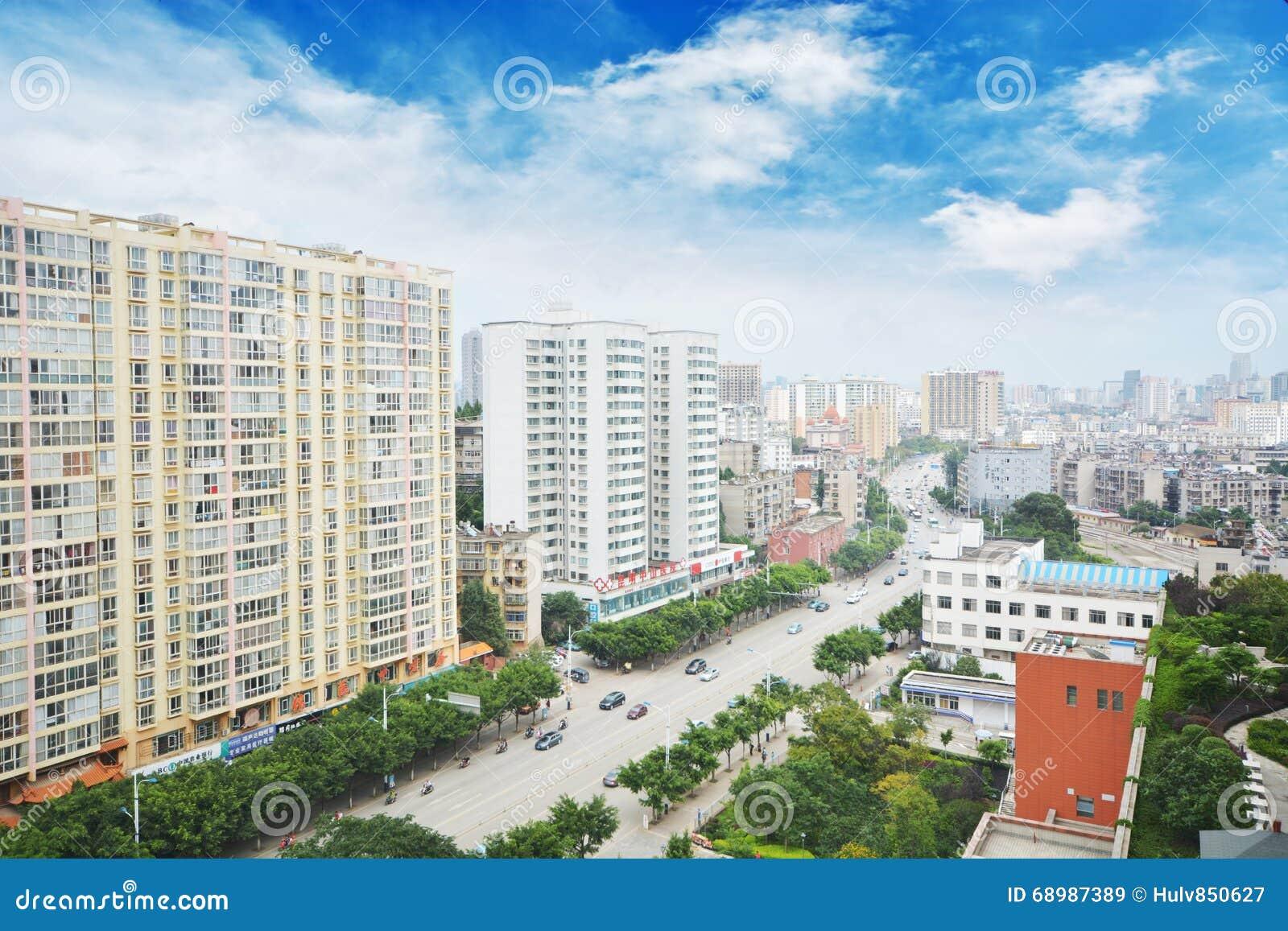 Kunming céntrico,
