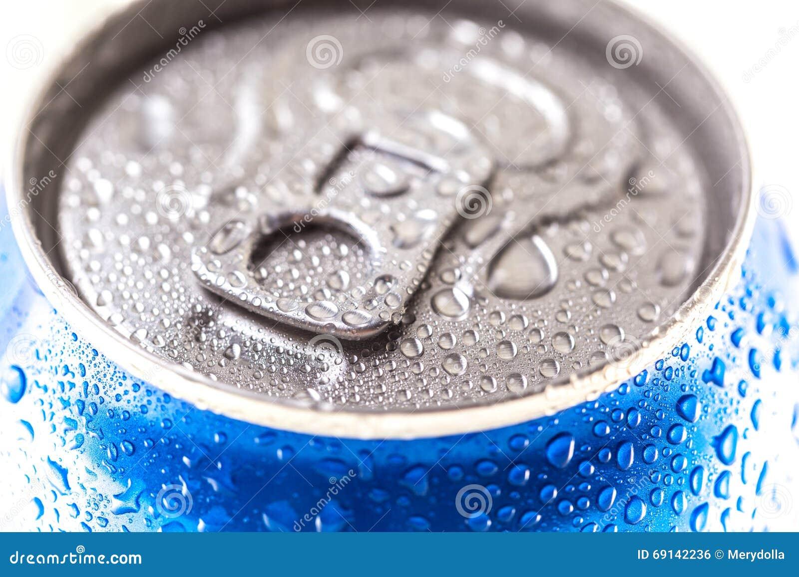 Kunna av Pepsi cola på en säng av is