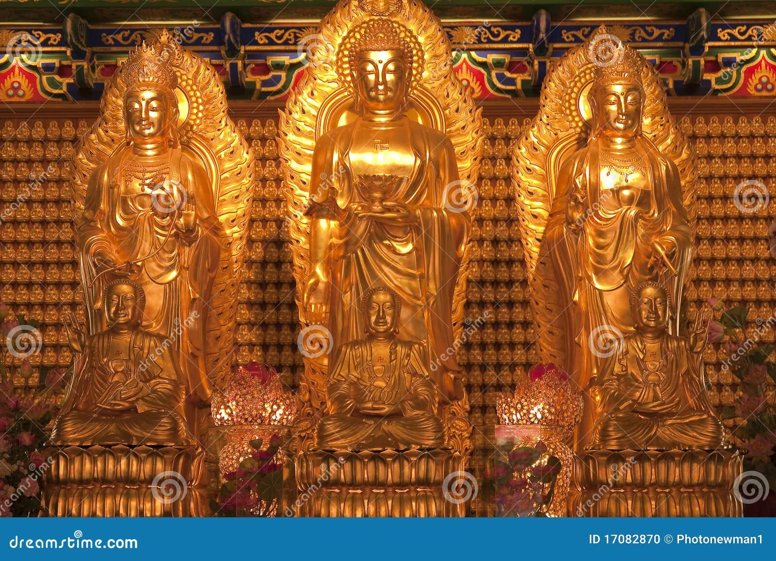 Kunst in der chinesischen Art des Tempels in Thailand