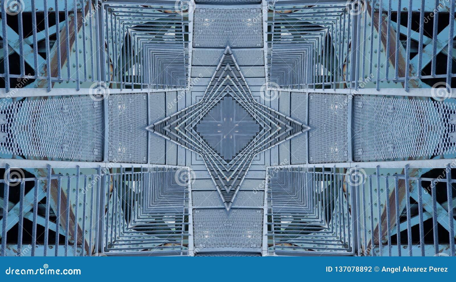 Kunst grafisch ontwerp van stedelijke structuur