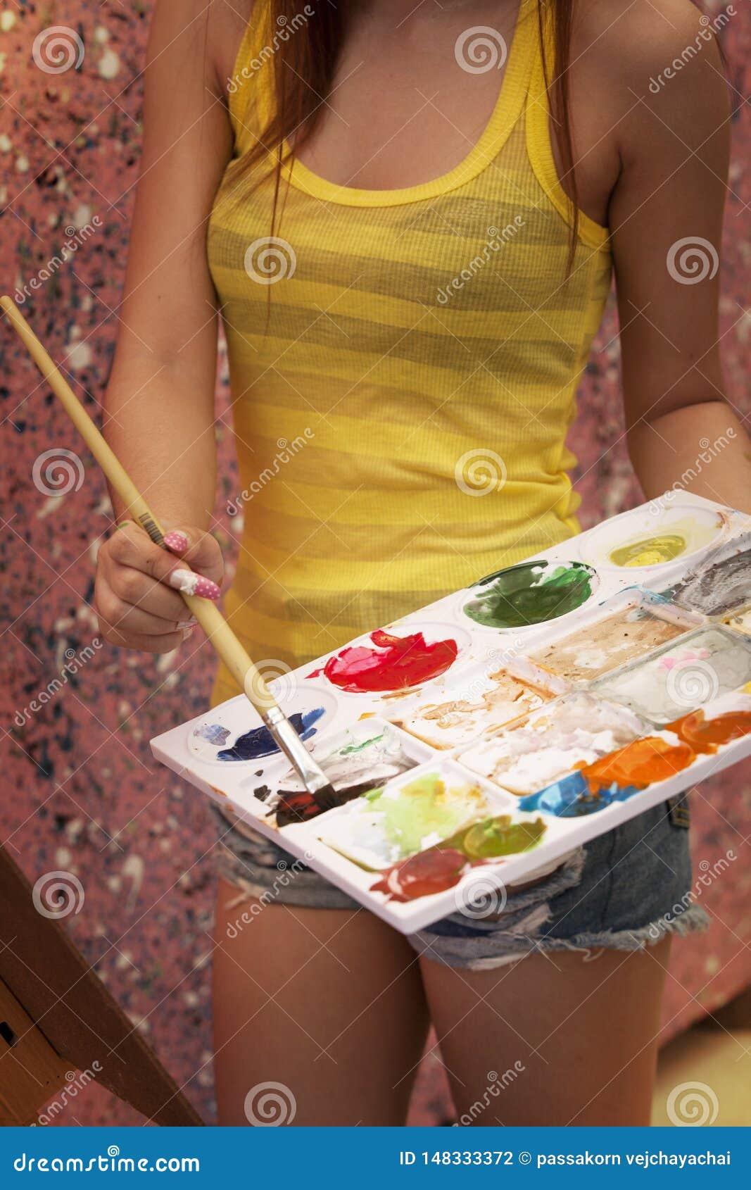 Kunstenaarsmeisje
