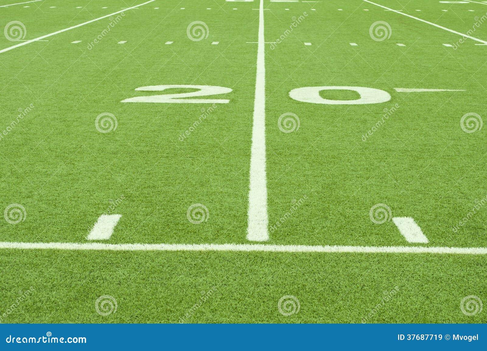 Kunstmatig gras 20 yard lijn royalty vrije stock afbeeldingen afbeelding 37687719 - Verkoop synthetisch gras ...