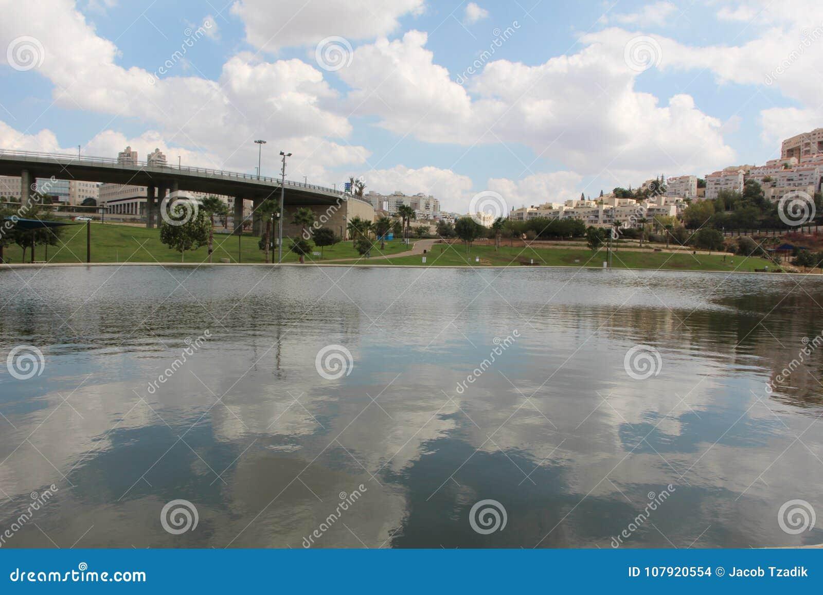 Kunstmatig meer van Modiin, Israël