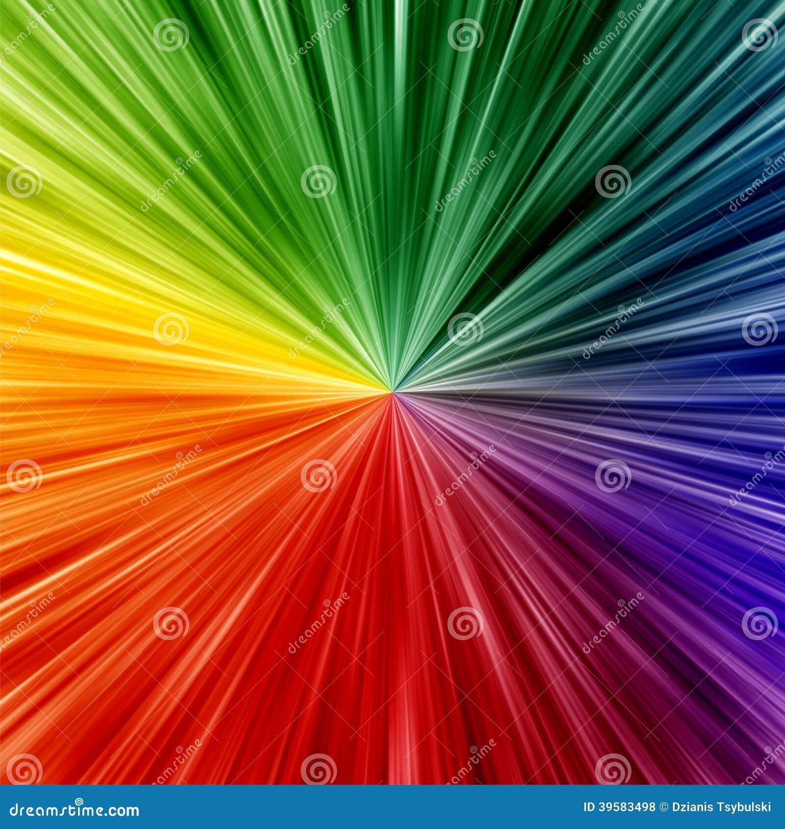 Kunstregenbogen färbt abstrakten Zoomhintergrund