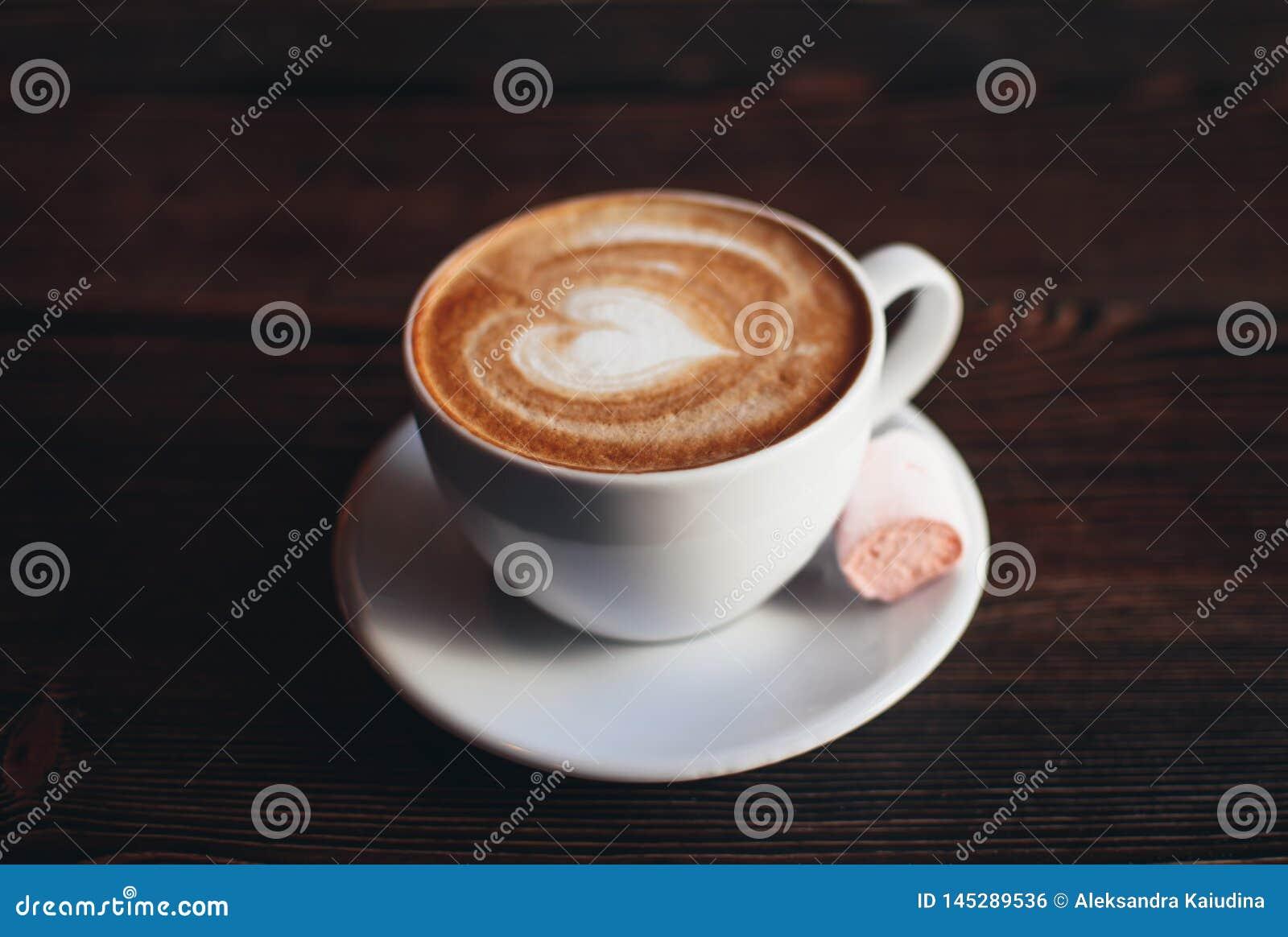 Kupa av cappuccino