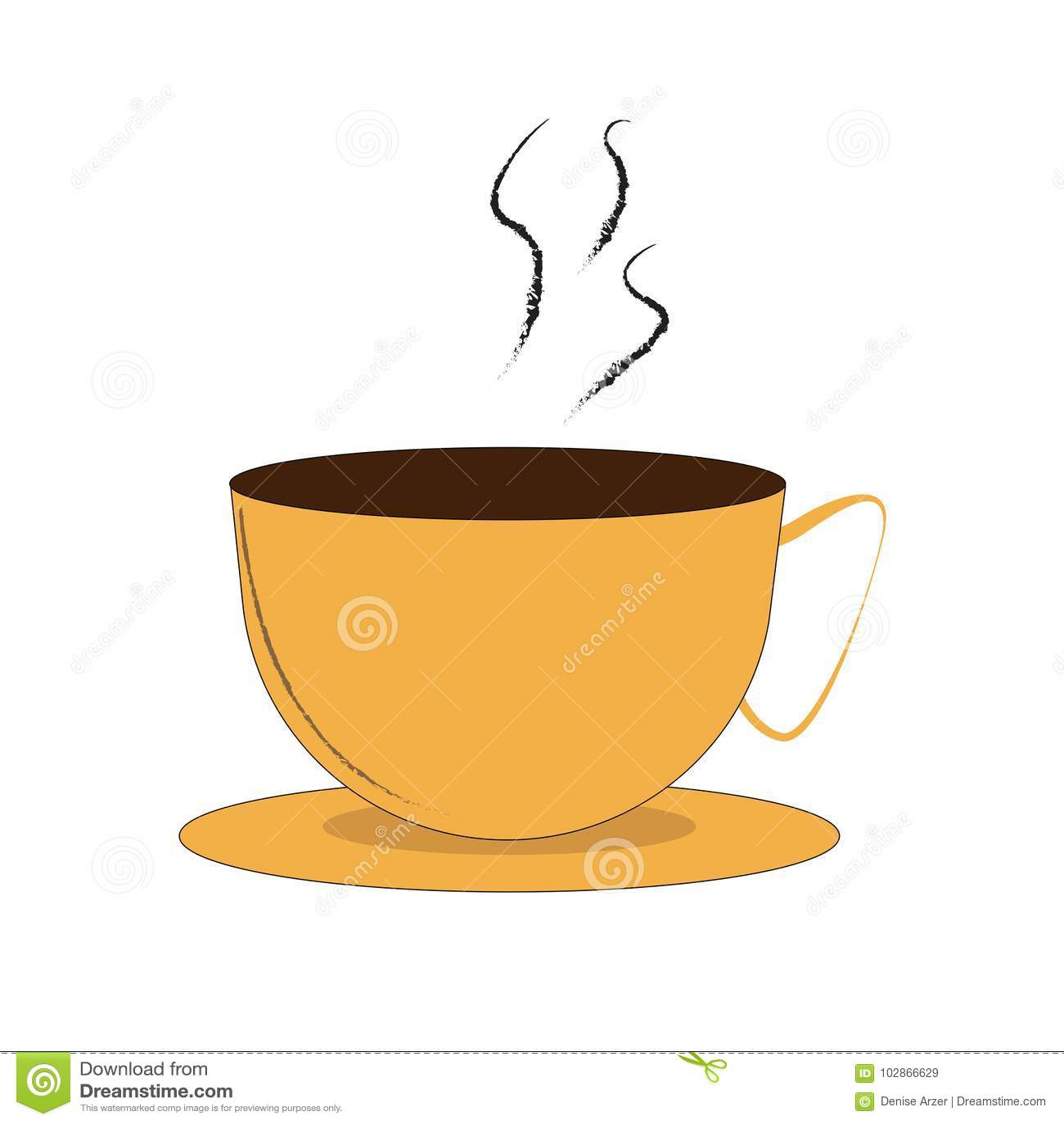 Kupa av kaffe