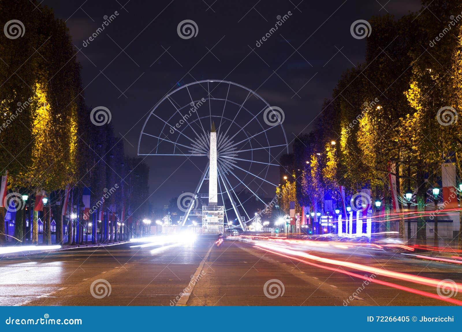 Kupczy w czempionów elysees, Paryż, Francja