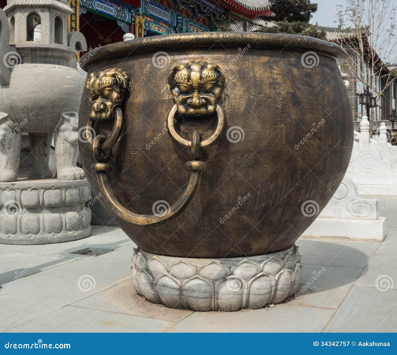 Kupferner Zylinder