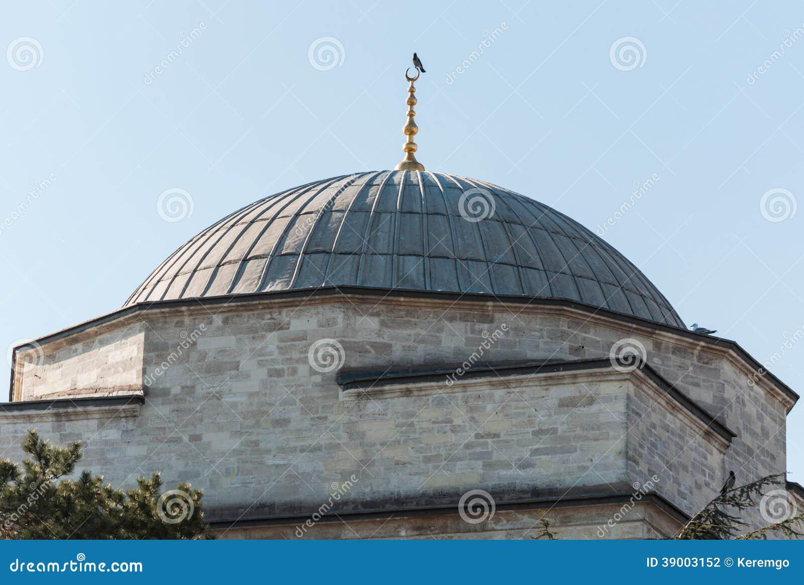 Kupol av en moské