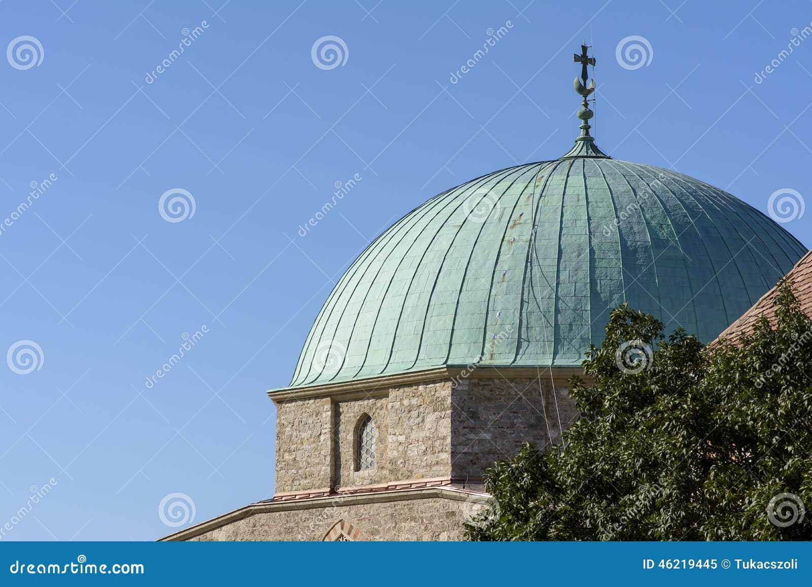 Kupolen av moskén
