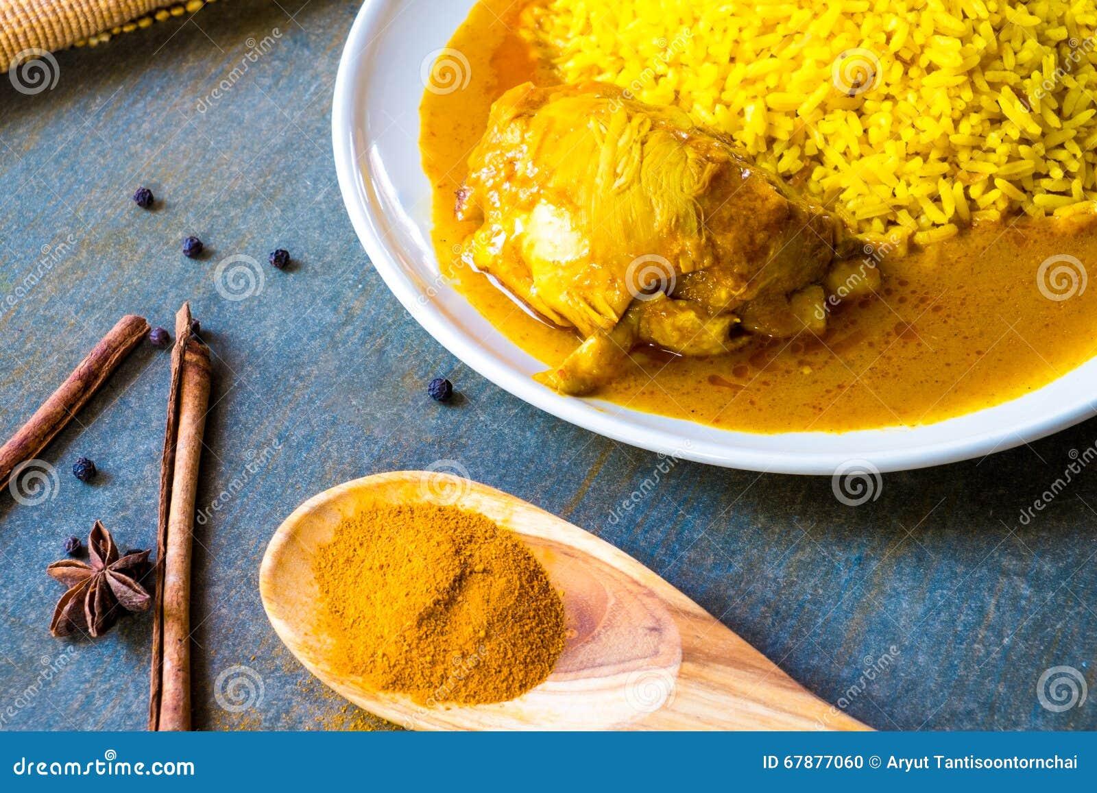 Kurczak Biryani z ryż
