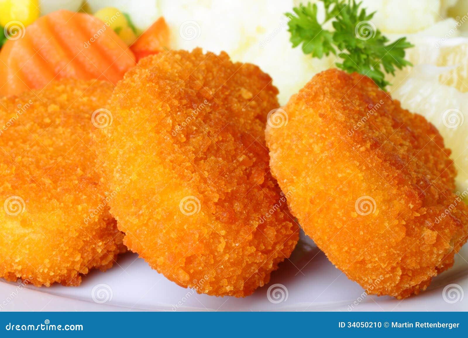 Kurczak bryłki