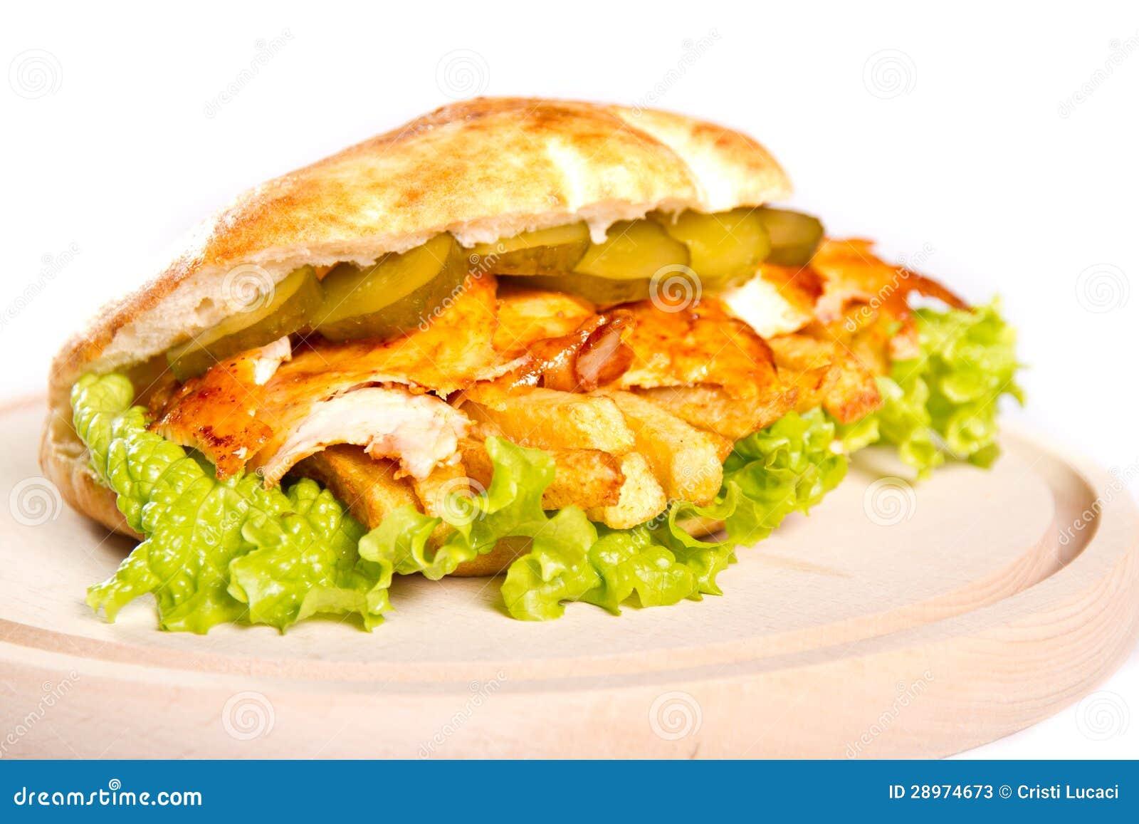 Kurczak kanapka