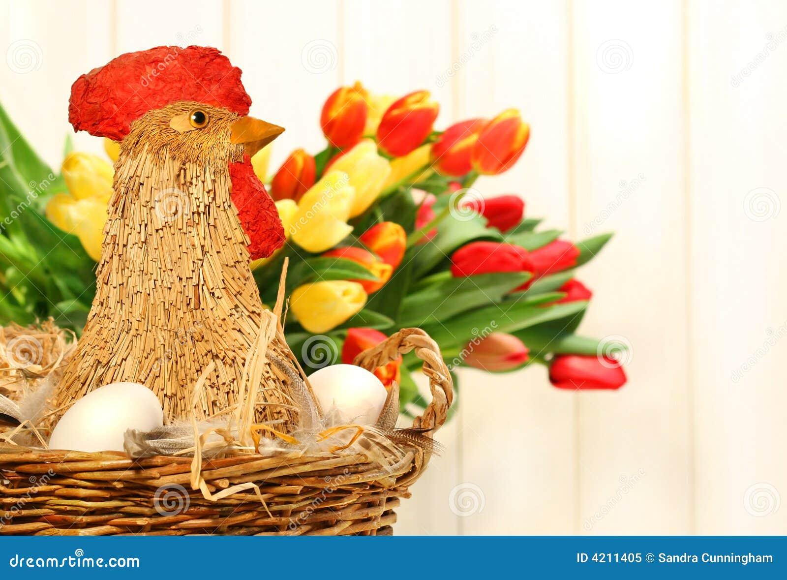 Kurczak koszykowa słomki łozinowa