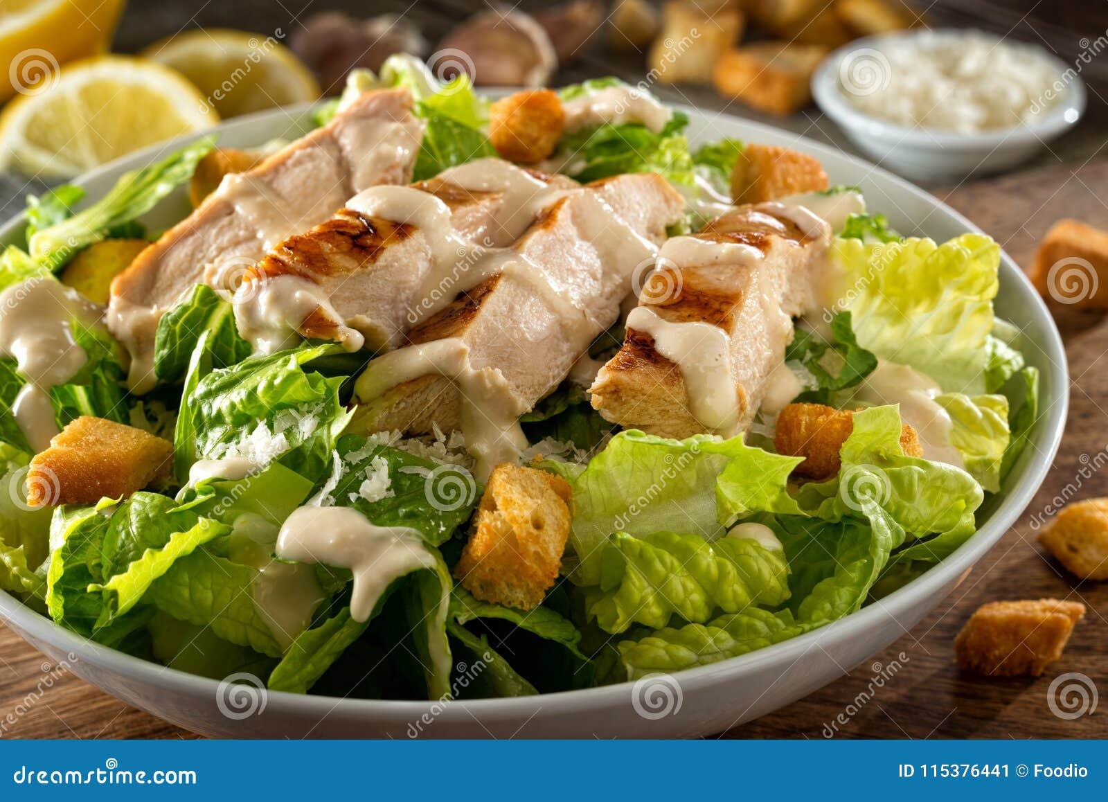 Kurczaka Caesar sałatka