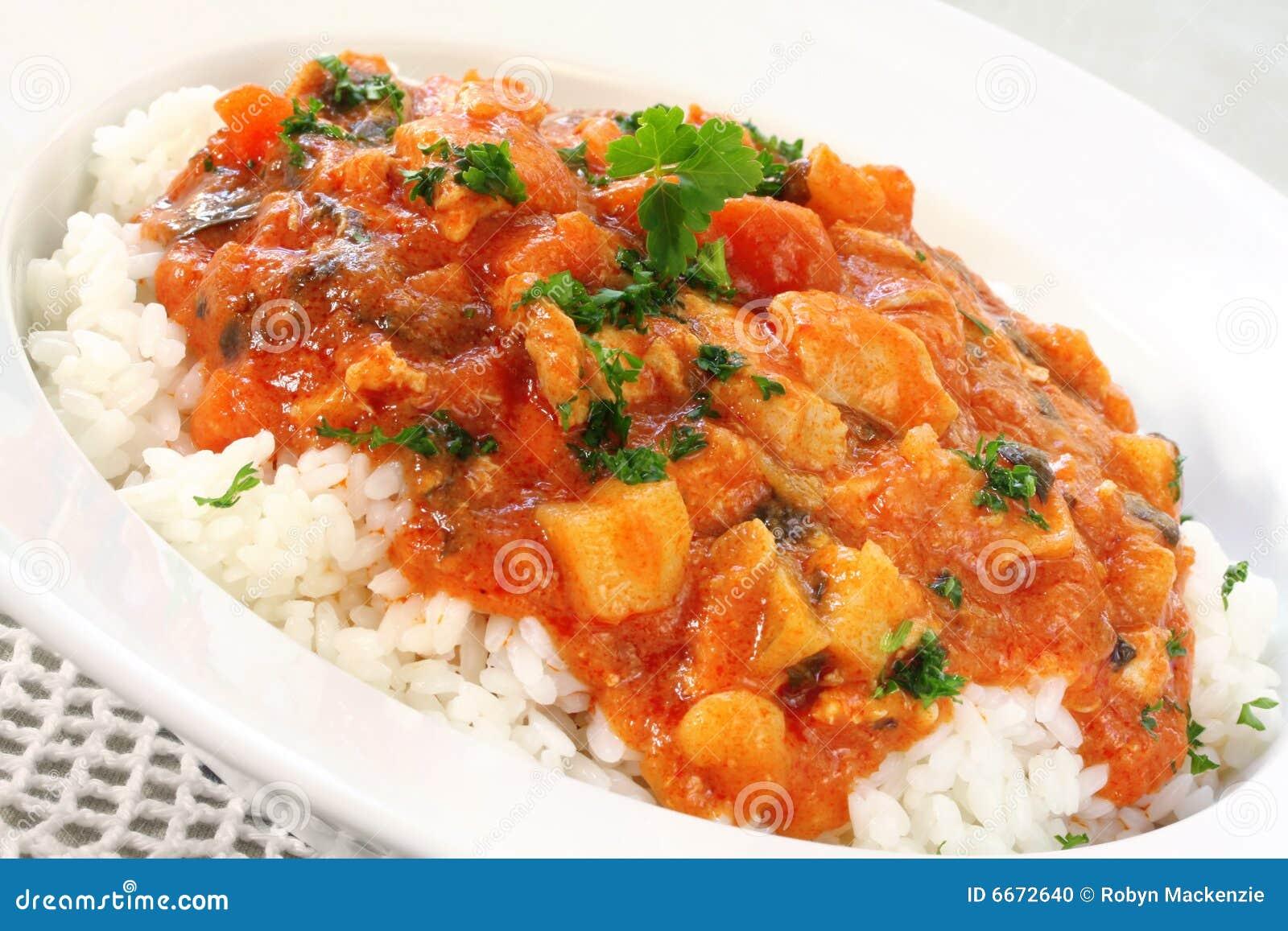 Kurczaka curry
