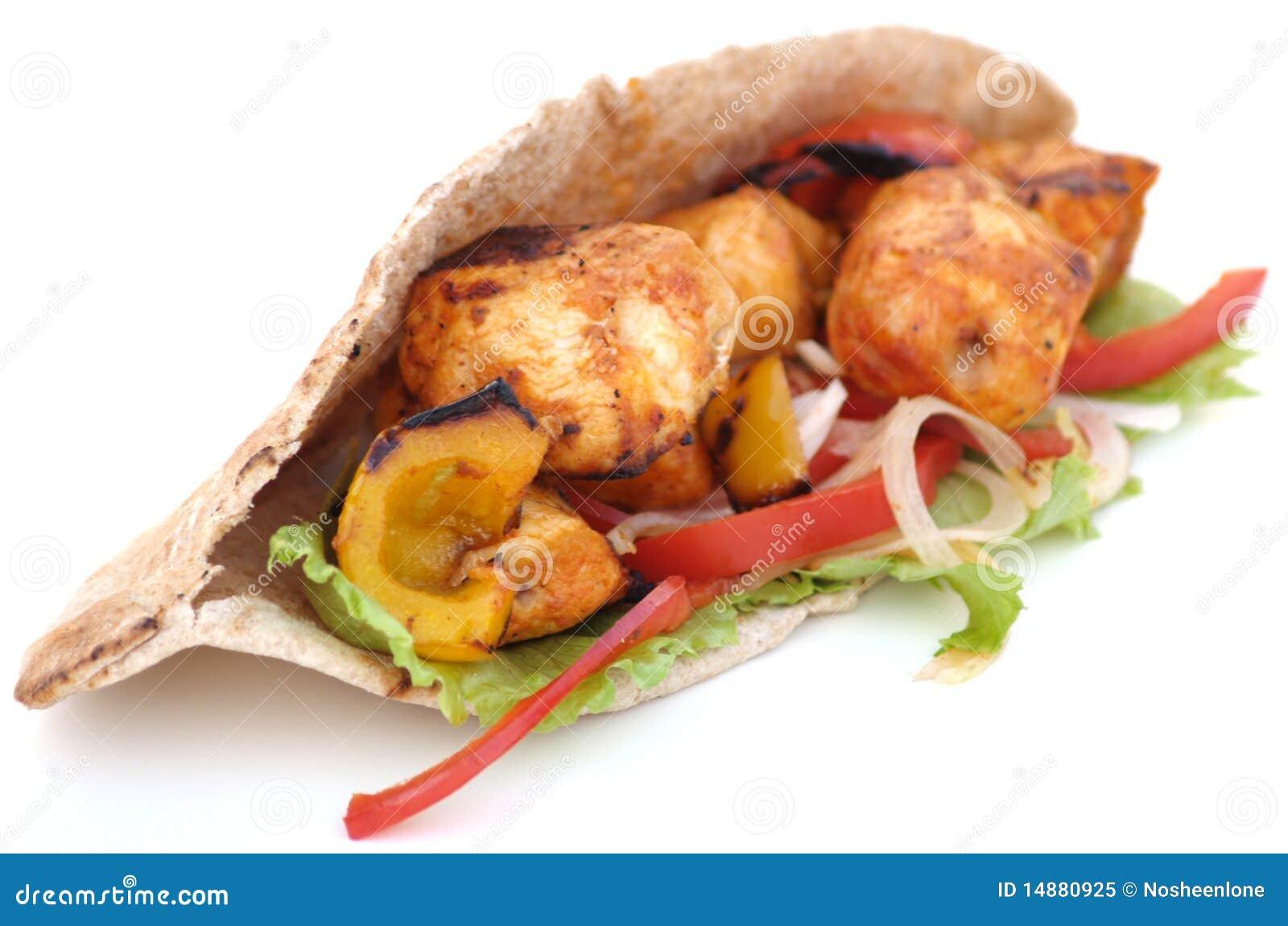 Kurczaka kebab