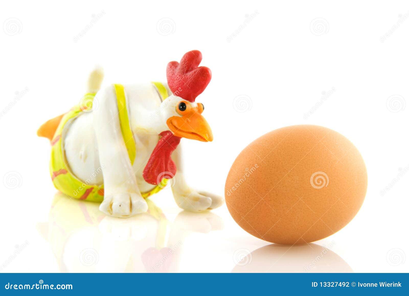 Kurczaka śmieszny jajeczny