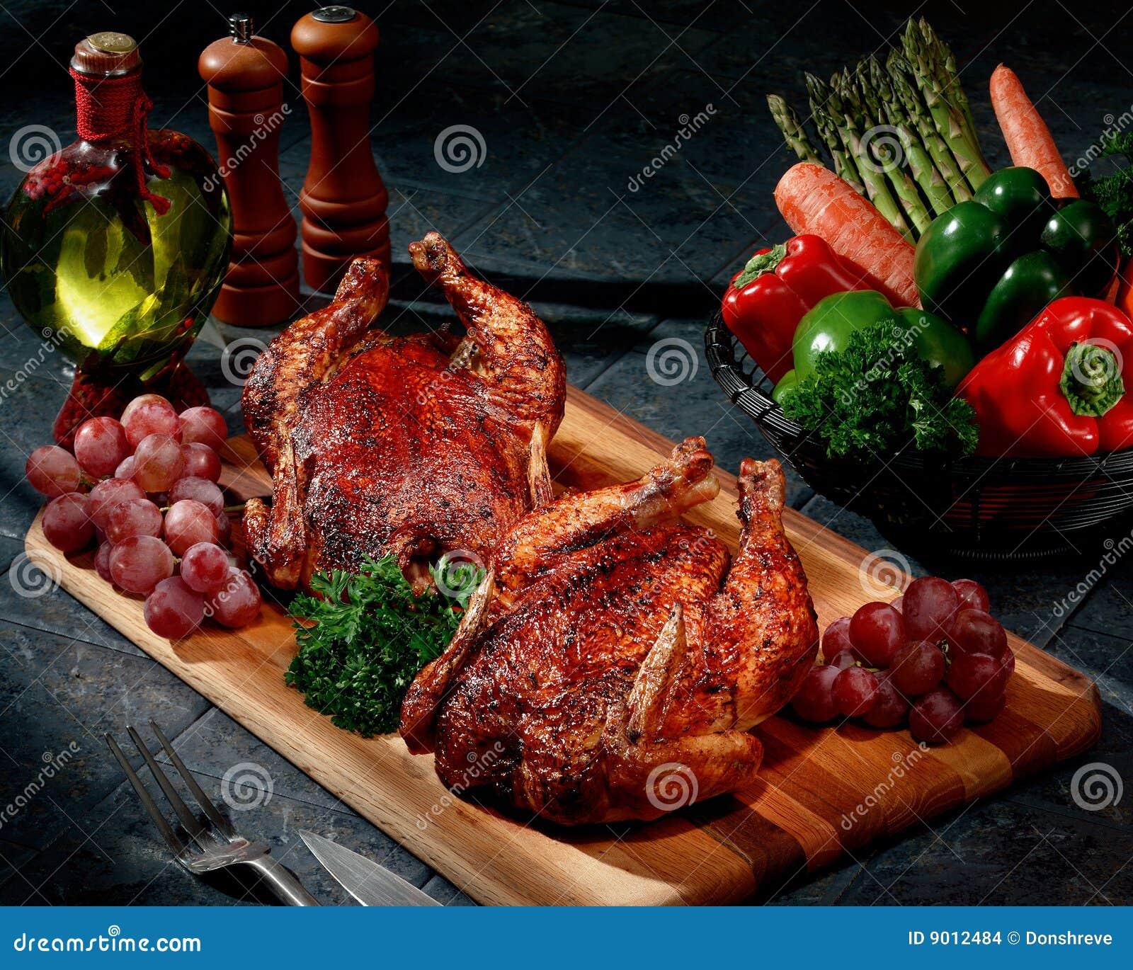 Kurczaka rotisserie