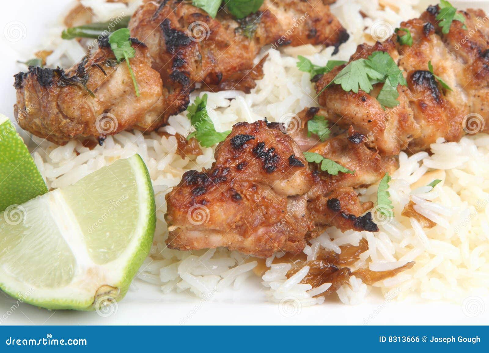 Kurczaka tajlandzki satay