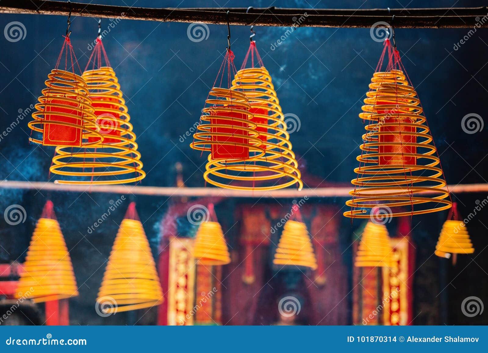 Kurenda kadzi w Chińskiej świątyni