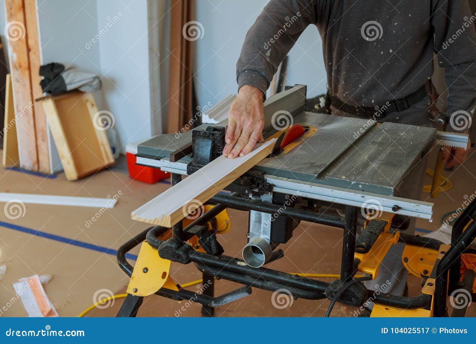 Kurenda zobaczył tnących drewnianych deski ostrza pojęcia