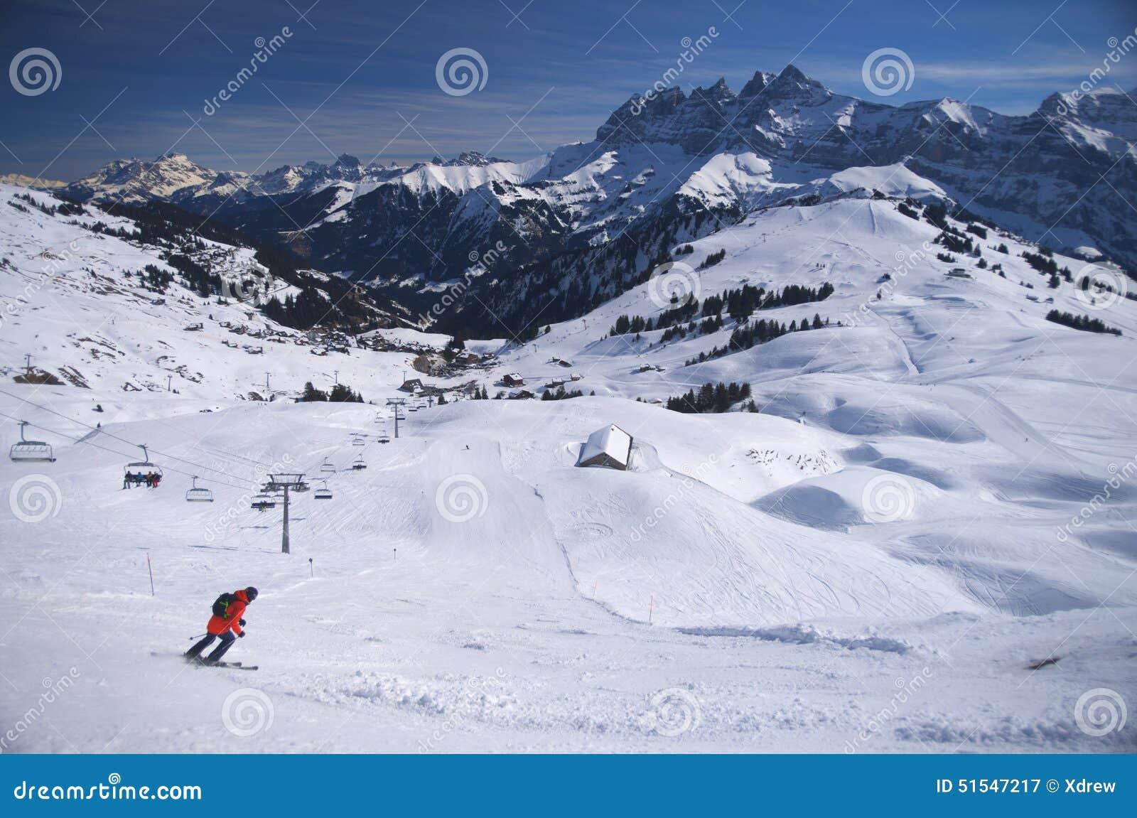 Kurort wysokogórska ski
